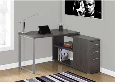 gray corner desk 21 computer desk designs ideas plans design trends
