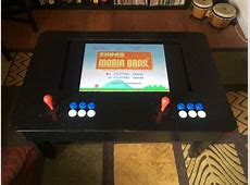 Make An Arcade Playing Coffee Table For Two Using