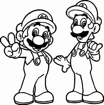 Mario Coloring Pages Cat Printable Getcolorings