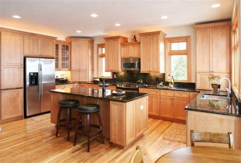 kitchen cabinets with light granite countertops k g home remodeling ideas black granite 9837