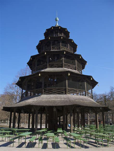 Parken Englischer Garten München Chinesischer Turm by Chinesischer Turm M 252 Nchen