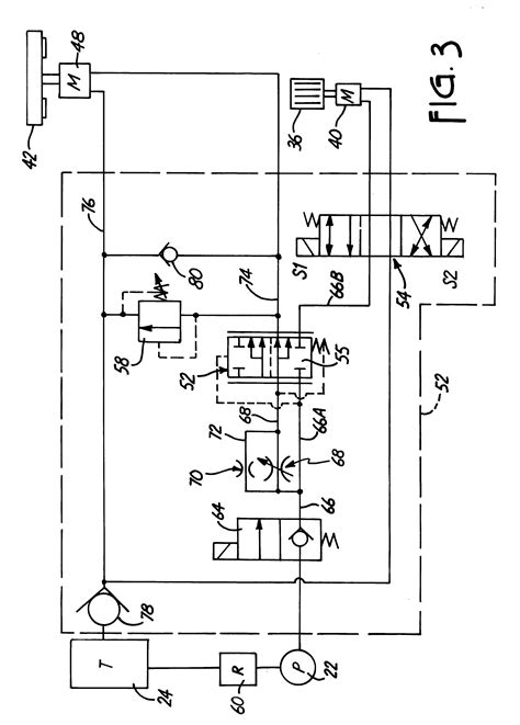 patent us6293479 feed hydraulic circuit for wood chipper attachment patents