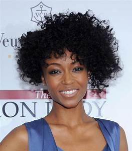 Natural Short Curly Hairstyle