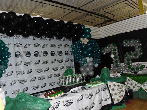 Philadelphia Eagles Birthday Party Ideas  Photo 14 Of 23