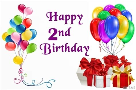 Happy Birthday Picture 2 by 2nd Birthday Wishes Messages Quotes Images For