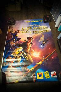 I didn't even know this was a disney film until recently. TREASURE PLANET A Walt Disney 4x6 ft Bus Shelter Original Movie Poster 2002 | eBay