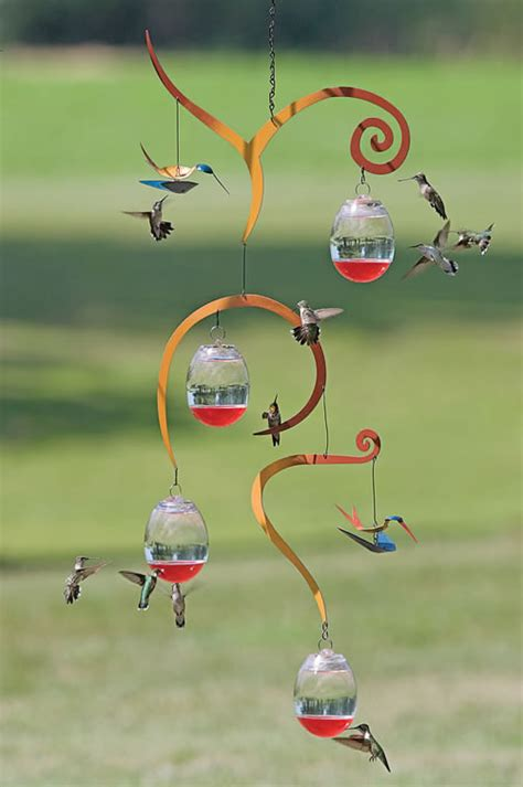 hummingbird feeder mobile
