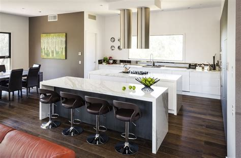 Modern White Kitchen   Modern White Kitchen Pics   Smith