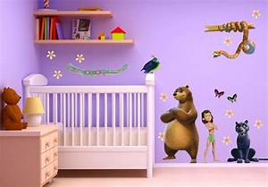 Leuchtsterne Für Kinderzimmer : wandtattoo dschungelbuch dschungel deko f r das kinderzimmer wall ~ Sanjose-hotels-ca.com Haus und Dekorationen