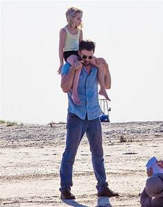 Chris Evans dotes on Mckenna Grace while filming for ...