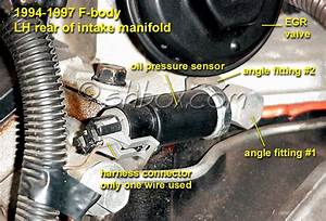 How Do You Remove These Fittings  Oil Pressure Sensor