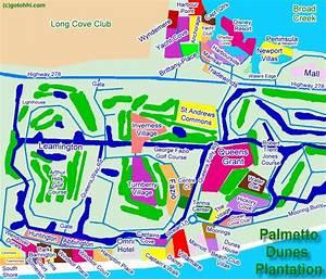 Palmetto Dunes Interactive Map Hilton Head Island Realty