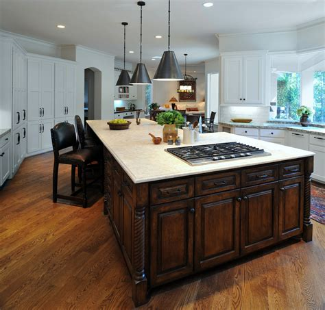 kitchen island  cooktop  nice