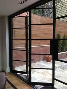 Porte En Verre Interieur Leroy Merlin : les portes pliantes design en 44 photos ~ Dallasstarsshop.com Idées de Décoration