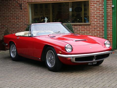 Maserati Mistral 3.5 Litre Spyder For Sale On Luxify