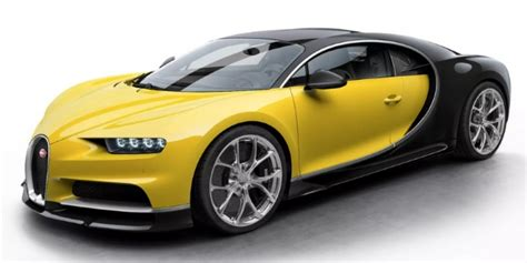 But then he had it painted in this ghastly color combination of black and yellow! What Are the Bugatti Chiron Exterior Color Options and Styles?