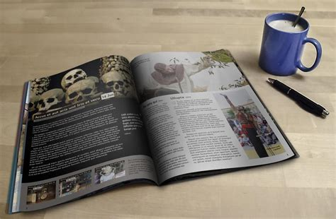 Free for personal and commercial use zip file includes: 18+ Free Magazine Mockup Templates for Designers