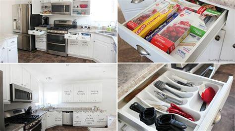 rangement de la cuisine 20 conseils pour mettre de l ordre dans ses placards de