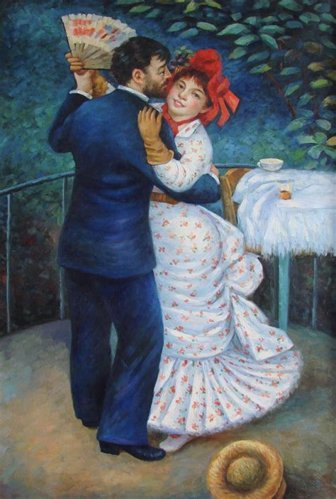 Renoir Dance In The Country 1883 Blame It On The Waltz