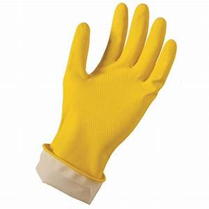 Grease Monkey Pro Cleaning Latex Reusable Gloves L/XL (2
