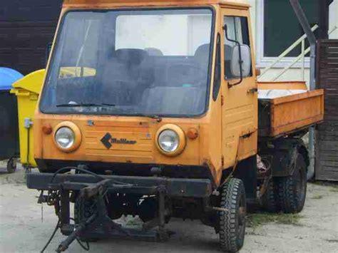 multicar m25 kaufen multicar m25 4x4 allrad mit streutrichter und