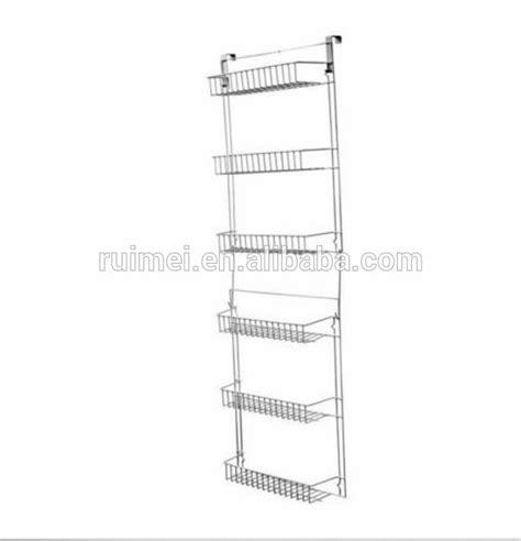 storage rack  door hanging organizer home pantry shelf kitchen basket buy kitchen basket