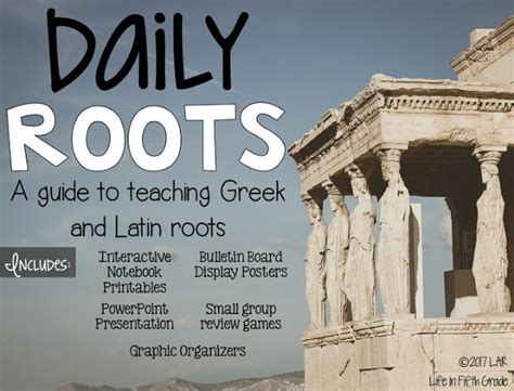 Teaching Greek And Latin Roots In 5th Grade  Life In