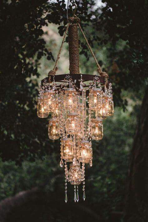 1000 ideas about jar chandelier on jar