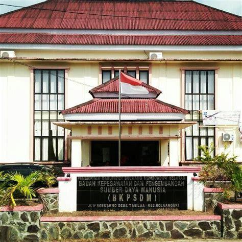 badan kepegawaian daerah kabupaten bolaang mongondow