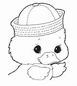 Duck Coloring Pages Toddler Momjunction Printable Cdn2 sketch template