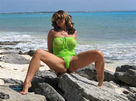 Nude Anna At Beach Wearing Sexy Bikini June Voyeur Web Hall Of Fame