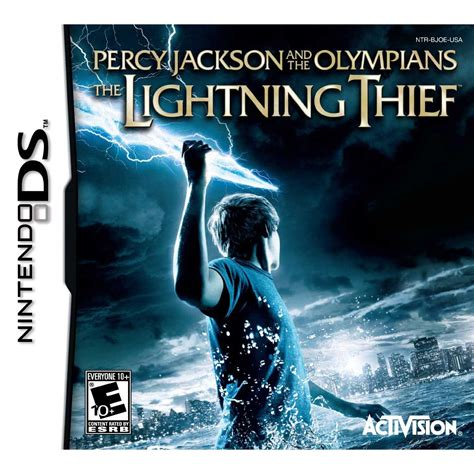 percy jackson and the lighting thief percy jackson the olympians the lightning thief ds