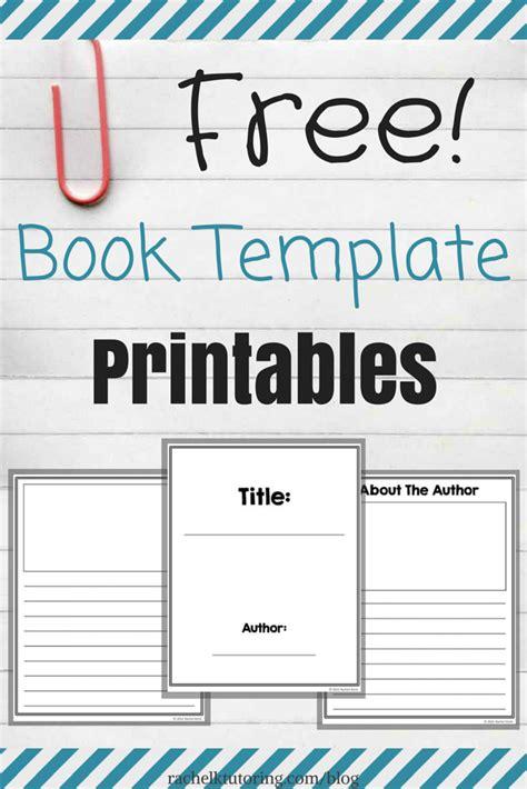 book template printables rachel  tutoring blog