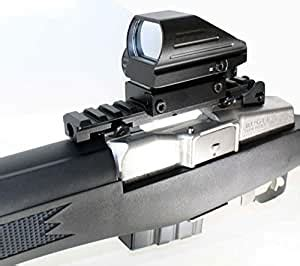 Amazon.com : TRINITY Red Green Reflex Sight Mount Ruger