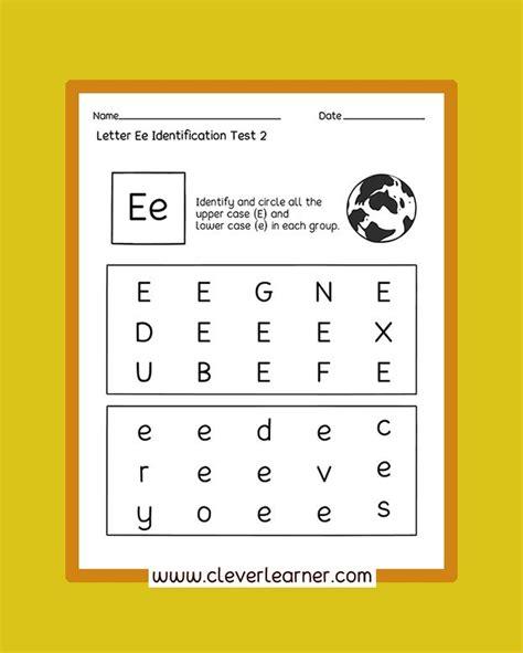 awesome letter identification worksheets  children