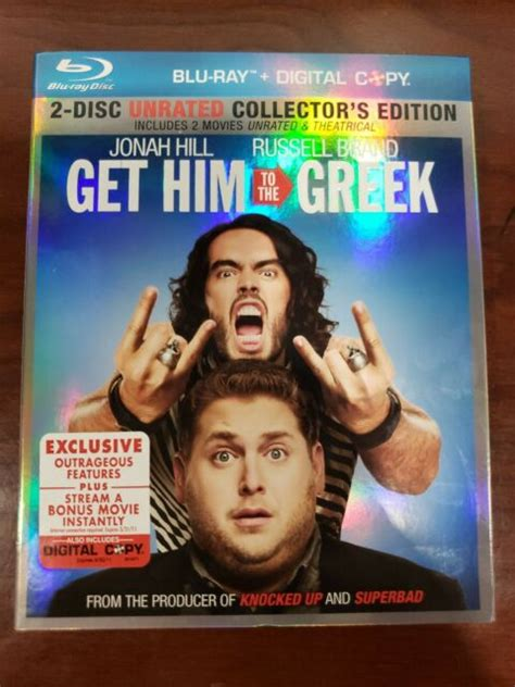A comeback concert in la featuring aldous snow, a fading rockstar who has dropped off the radar in recent years. Get Him to the Greek (Blu-ray Disc, 2010, 2-Disc Set ...