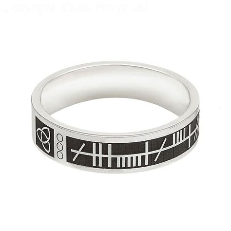 ogham soulmate band celtic rings ltd