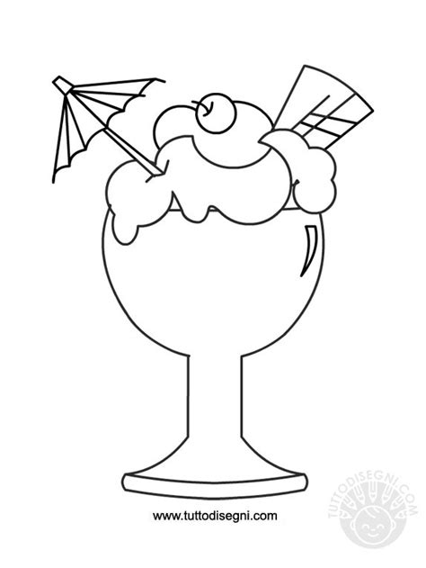 disegni cono gelato da colorare disegni da colorare gelato tuttodisegni