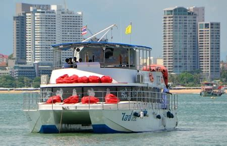 Catamaran Cruise Pattaya by Catamaran Ice Heats Up Pattaya Party Boat Market Pattaya