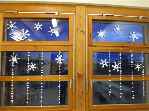 Fensterdeko Weihnachten Kindergarten by Fensterdeko Winter Im Kindergarten Kindergarten