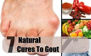 Natural Home Remedies Cure Gout