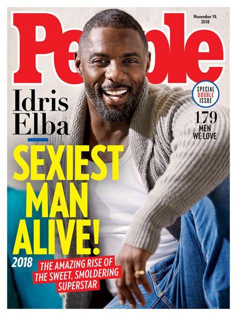 Idris Elba Named People's Sexiest Man Alive For 2018 | SHOWBIZ