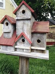 vintage, 4, family, birdhouse, , simplebirdhouse
