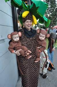 Tree and Monkey Halloween Costume