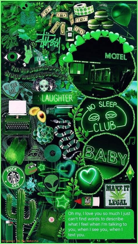 aesthetic photos green wallpapers