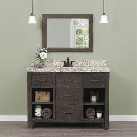 foremost roberson     dark oak bathroom