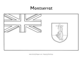 jamaica flag colouring page