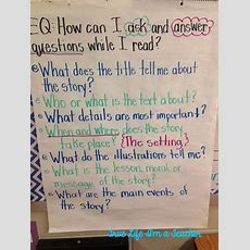 25+ Best Ideas About Questioning Anchor Chart On Pinterest  Higher Level Questioning, Reading