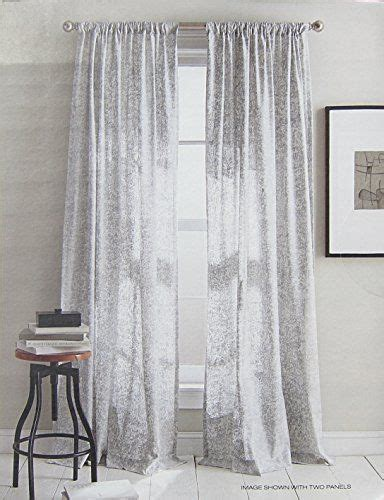 dkny curtains drapes dkny set of 2 window curtains panels 50 by 96