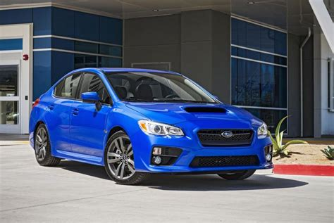 subaru wrx 2016 subaru wrx wrx sti revealed new in car tech